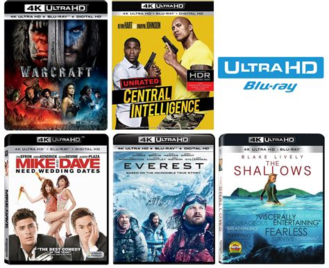 Baby 4k Bluray this week s new 4k ultra hd releases with hdr hd report