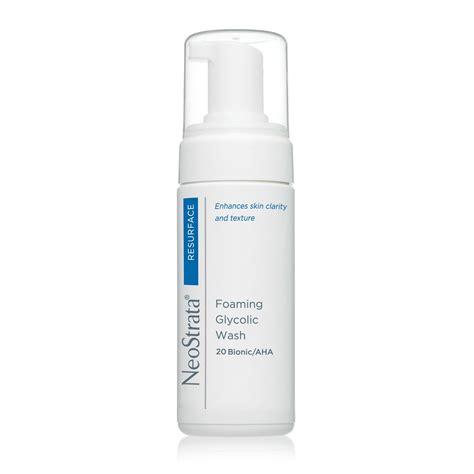 Foaming Wash Skin neostrata foaming glycolic wash aha 20