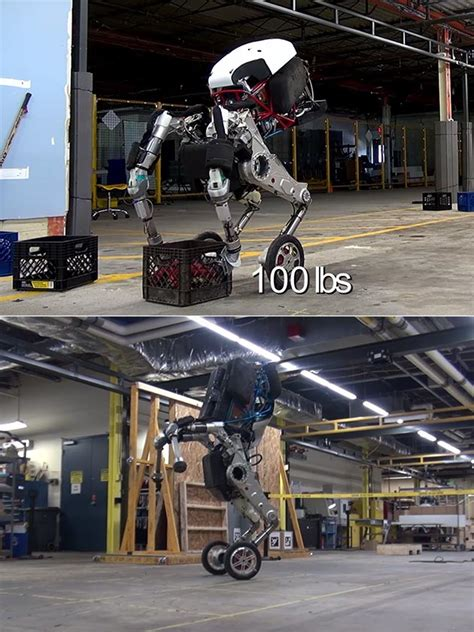 boston dynamics robot boston dynamics handle robot stands 6 5 and can jump up to 4 high
