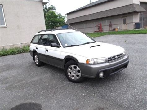 airbag deployment 1998 subaru legacy auto manual purchase used 1998 subaru legacy outback wagon 4 door 2 5l awd fix it save money no reserve in