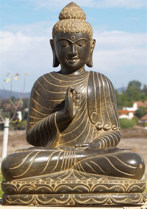 buddha statues or sculptures buddhist statue and hindu sold stone teaching buddha statue 36 quot 77ls66 hindu
