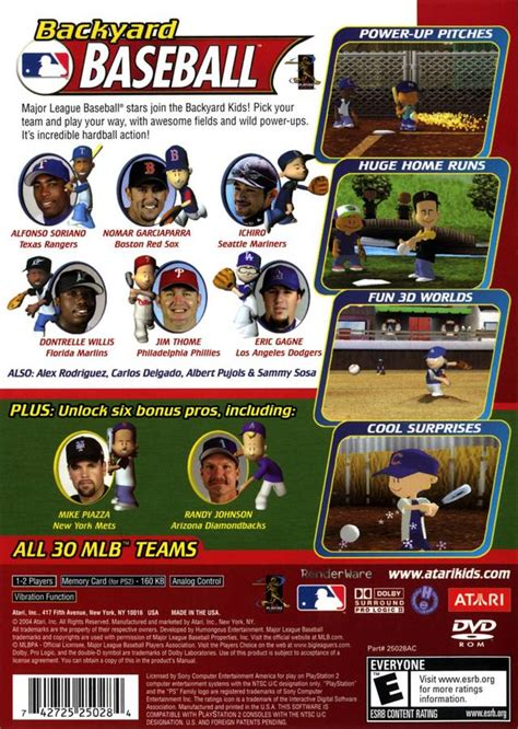Backyard Baseball Cheats by Backyard Baseball Us 03 23 04