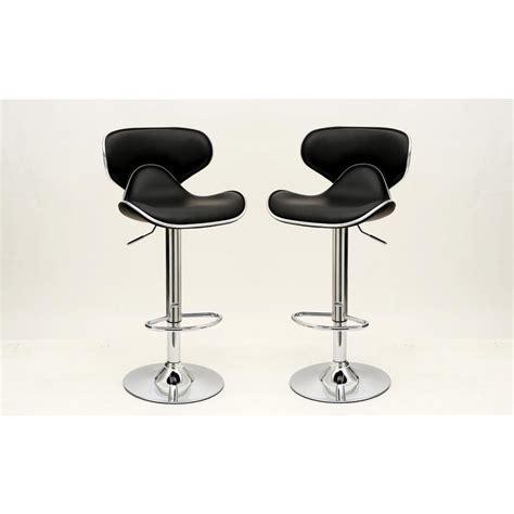 comfort bar stools manhattan comfort pablo black barstool with