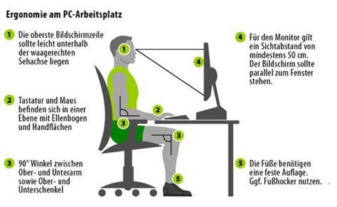 ergonomie am computerarbeitsplatz 6909 ergonomie am computerarbeitsplatz r ckengerechter