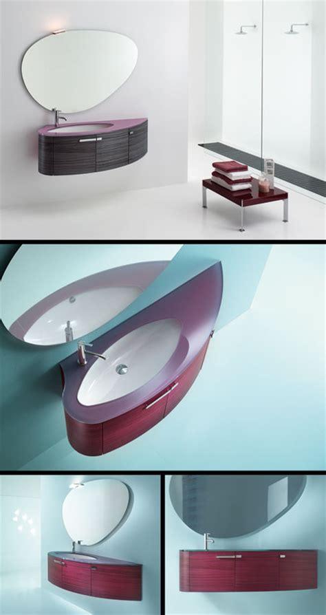 Zebrano Bathroom Furniture Modern Bathroom Furniture In Zebrano