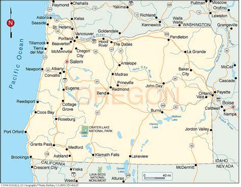 visit newport   oregon coast area map
