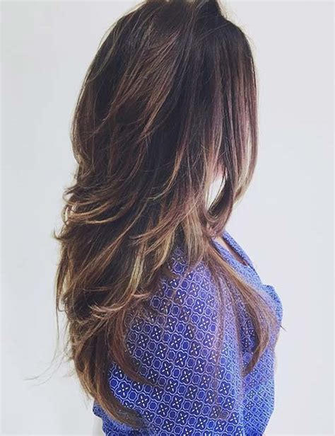 pic of laser hairstyle of back side laser haircut for long hair back view hairsstyles co