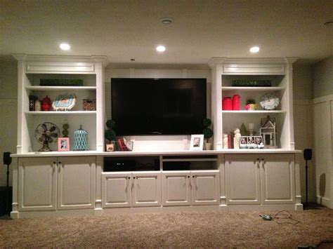 my just finished basement entertainment center our next