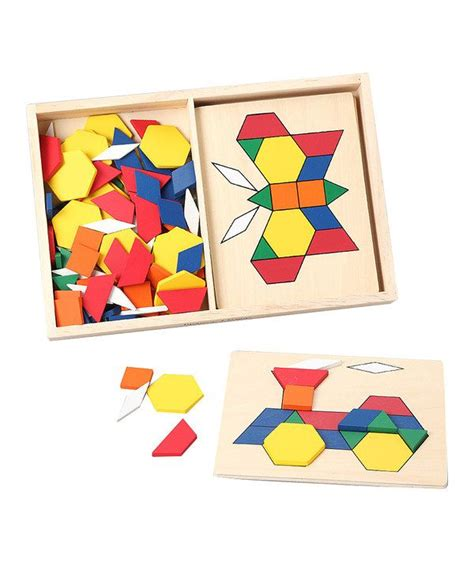 pattern math is fun look at this pattern blocks boards on zulily today
