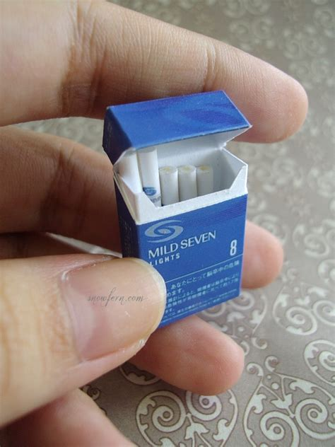 How To Make Paper Cigarettes - 1 3 box of cigarettes by snowfern on deviantart