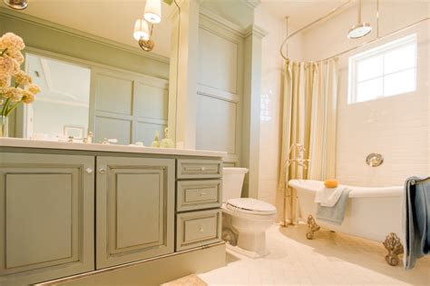 Painted Bathroom Cabinet Ideas Paint Colors For A Bathroom To Go With Maple Cabinets Creative Home Designer