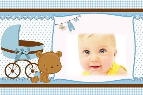 Imagenes De Baby Shower De Ni O by Fotomontaje Para Baby Shower O Nacimiento Ni 241 Os