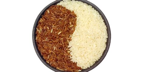carbohydrates rice the difference between brown rice and white rice