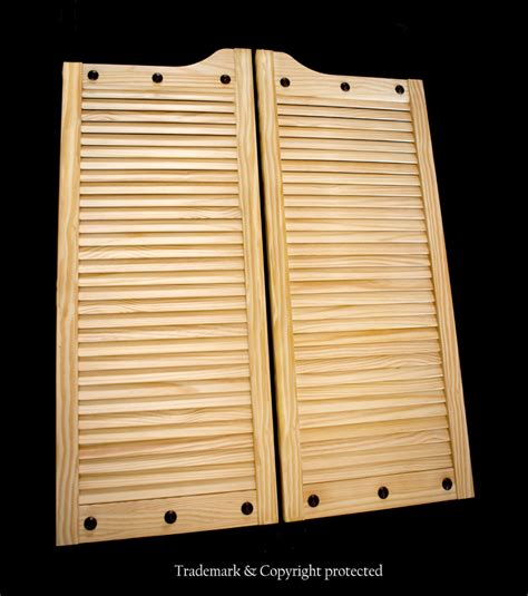louvered swinging doors pine swinging doors by swinging doors emporium custom