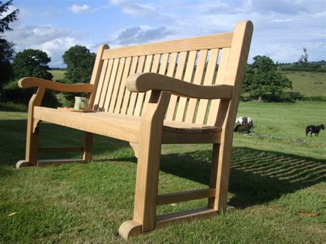 teak memorial benches kenilworth 1 5m fsc certified teak memorial bench