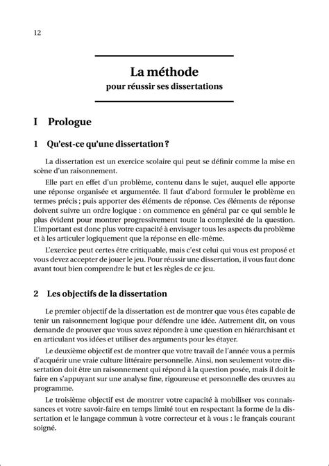 Exemple De Dissertation by H K 20 Dissertations