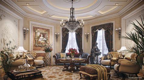 Luxury Living Room Decor by Luxury Villa Living Room Interior Design Ideas