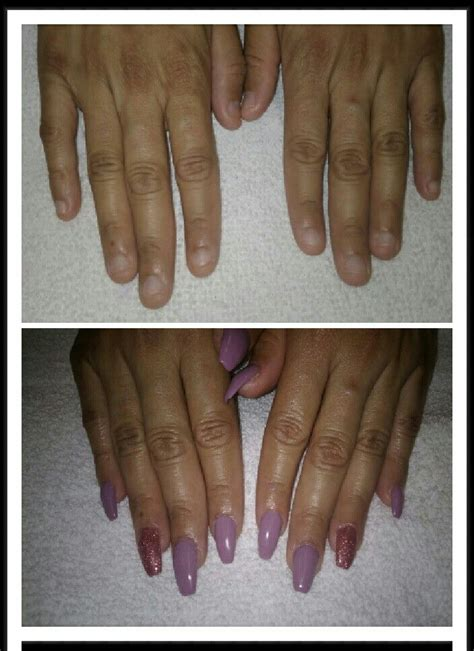 small nail beds before and after small nail beds acrylic nails beautyk
