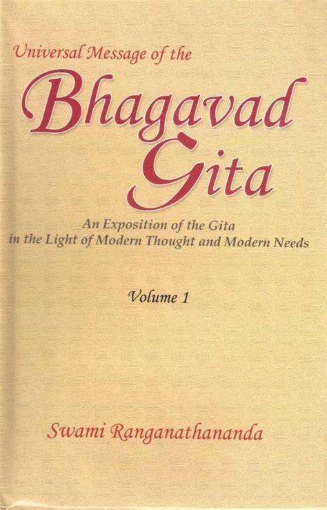universal messages books universal message of the bhagavad gita volume 1 buy
