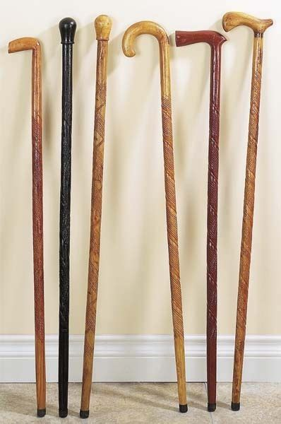 Handcrafted Walking Canes - handcrafted walking wood canes walking sticks