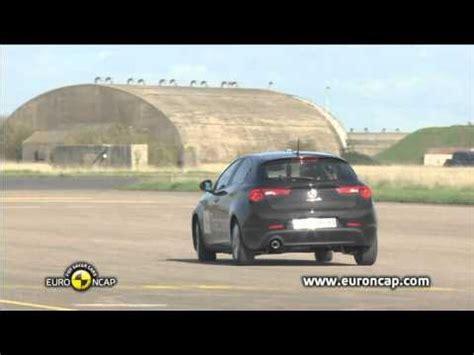 mazad car euro ncap alfa romeo giulietta 2010 esc test youtube