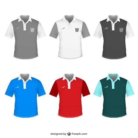 Polo Shirt Outline Vector by Polo Shirt Vector Template Vector Free