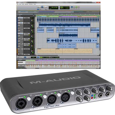 M Audio Fast Track Usb m audio fast track ultra usb interface with pro 9900 65150 00