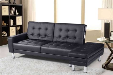 faux leather sofa bed with storage sleep design knightsbridge black faux leather sofa bed