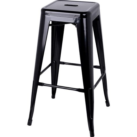 tolix bar stools for sale 2x replica tolix steel bar stools in black 76cm buy