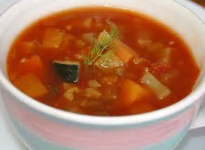 vegetable soup delicious snacks