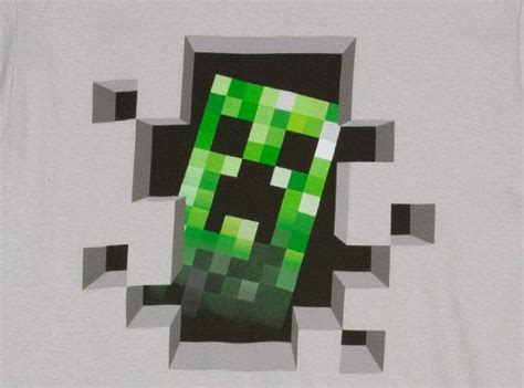 Painting Ideas For Dining Room by Minecraft Creeper Face Architecture World