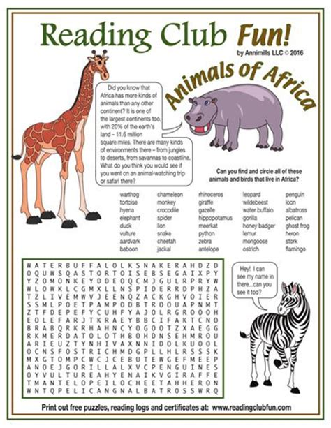 printable africa puzzle 56 best hidden pictures figure ground images on