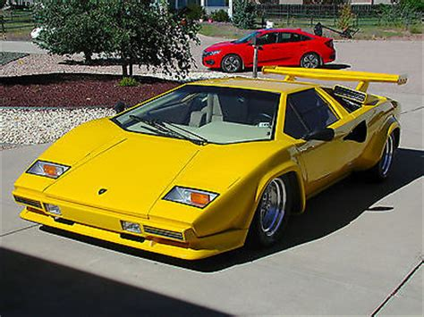 1980 Lamborghini Price 1980 Lamborghini Countach 5000 Used Replica Kit Makes