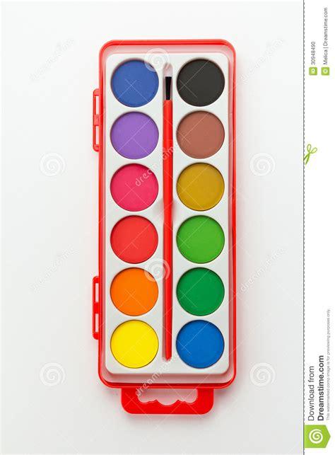 watercolor paint set stock photo image 30948490