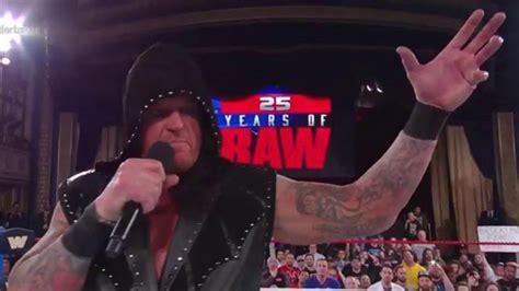 undertaker 01 el devorador the undertaker genera m 225 s dudas sobre su futuro en el 25 aniversario de raw marca claro m 233 xico