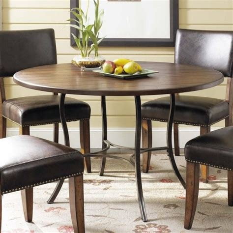 hillsdale cameron dining table hillsdale cameron 5 pc wood and metal dining table