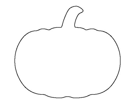 printable templates pumpkin pumpkin outline printable clipartion com