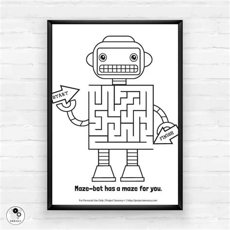 Super Awesome Calming Robot Activity Kit for Busy Kids