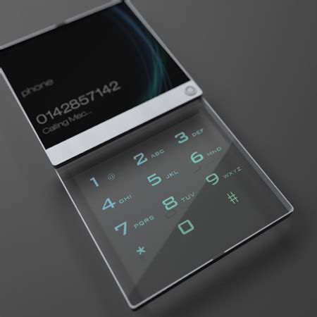 7 Cool Phones For Your House by Futuristic And Cool Mobile Phone Designs By Mac Funamizu