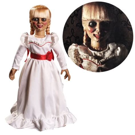 annabelle doll clothes the conjuring annabelle 18 inch prop replica doll mezco