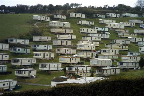 mobile home holidays uk caravan park south 169 terry geograph
