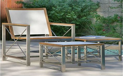 outdoor stainless steel furniture outdoor recliner chairs patio rocking chairs in okemos mi