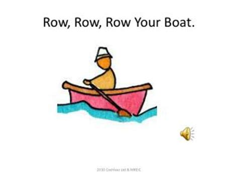row the boat chant ppt rock cycle song sing to the tune of quot row row row