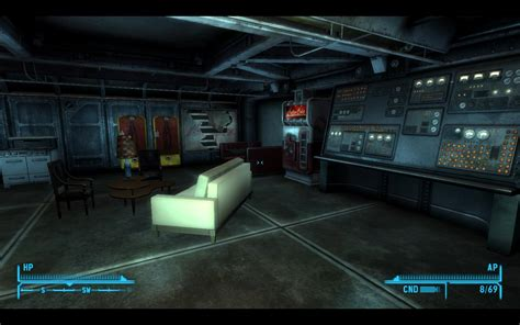 fallout new vegas repconn storage room safe underground vault home at fallout new vegas mods and community