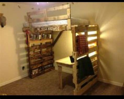 diy pallet loft bed plans 8 bunk bed ideas made completely with palletsdiy pallet