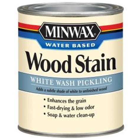 minwax 1 qt white wash pickling water based stain 4 pack
