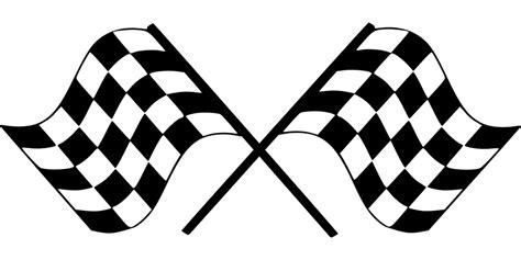Sticker Spion Formula 1 Chevrolet Racing Hitam Putih finish flag checkered car 183 free vector graphic on pixabay