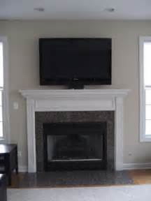 Flat Screen Tv Mounted Fireplace by Images Of Televison Fireplace Flat Screen Tv And