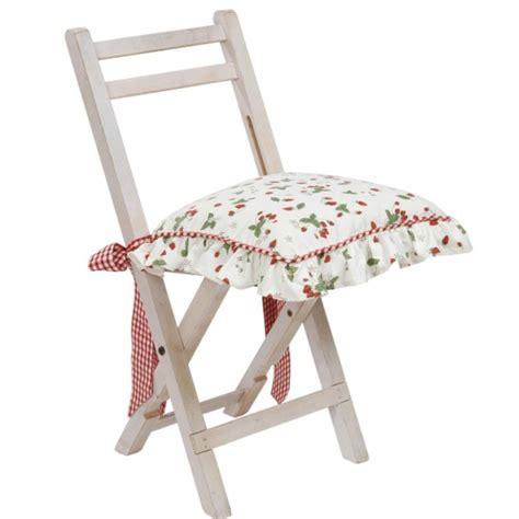 galette de chaises galette chaise coton fraises