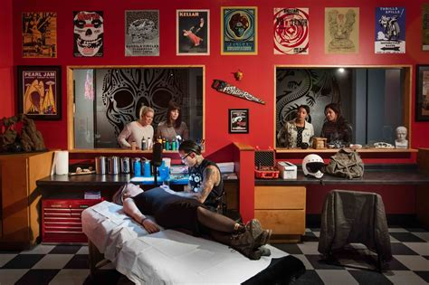tattoo shop temporarily coming  field museum chicago